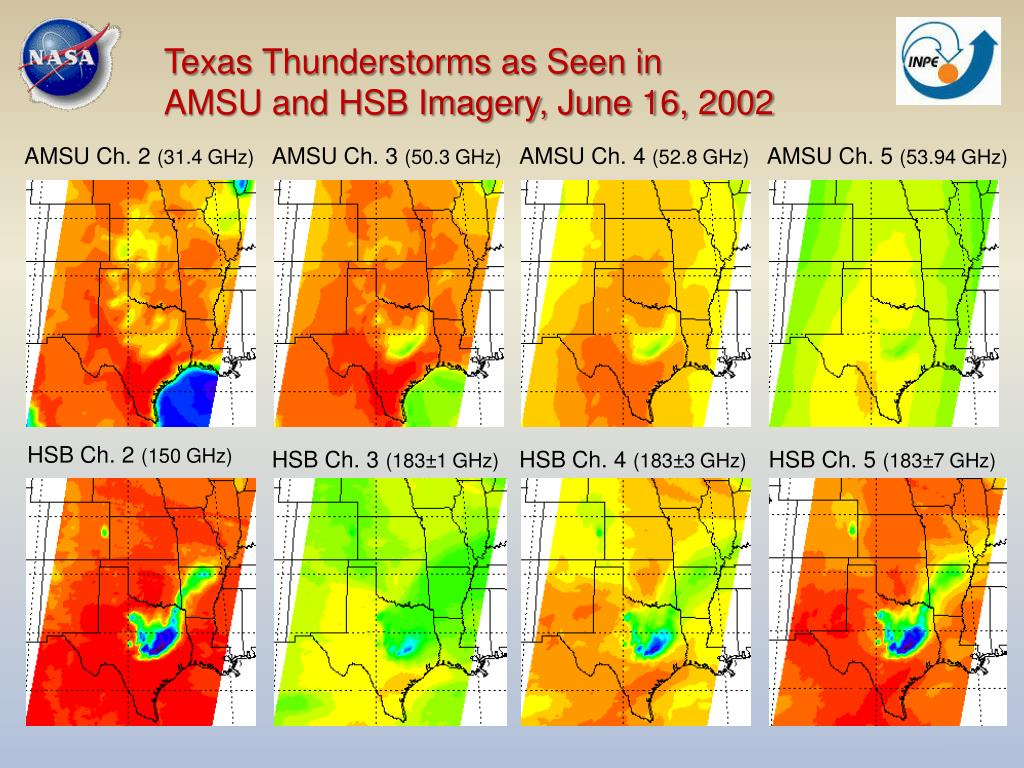 Texas Thunderstorms as Seen in