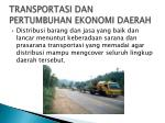 transportasi dan pertumbuhan ekonomi daerah2
