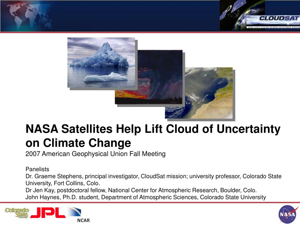 NASA Satellites Help Lift Cloud of Uncertainty on Climate Change