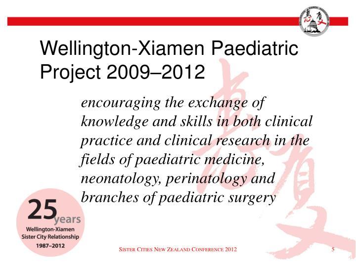 Wellington-Xiamen Paediatric Project