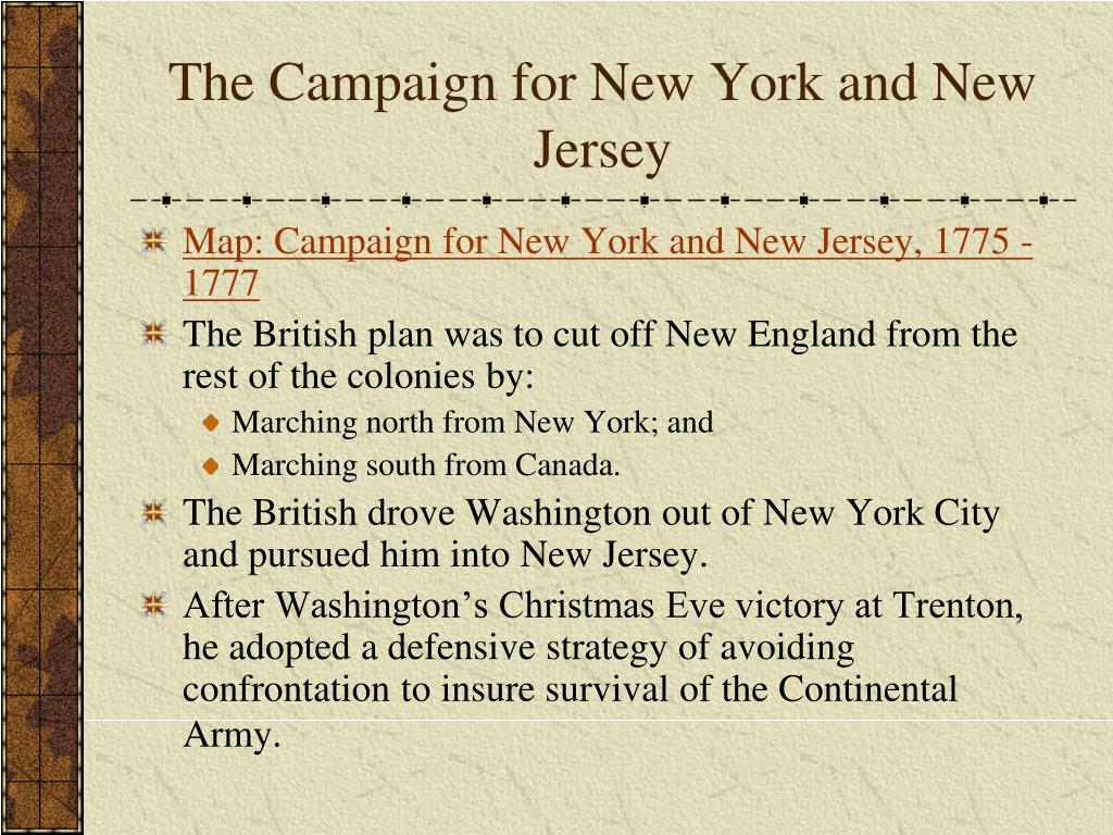 The Campaign for New York and New Jersey