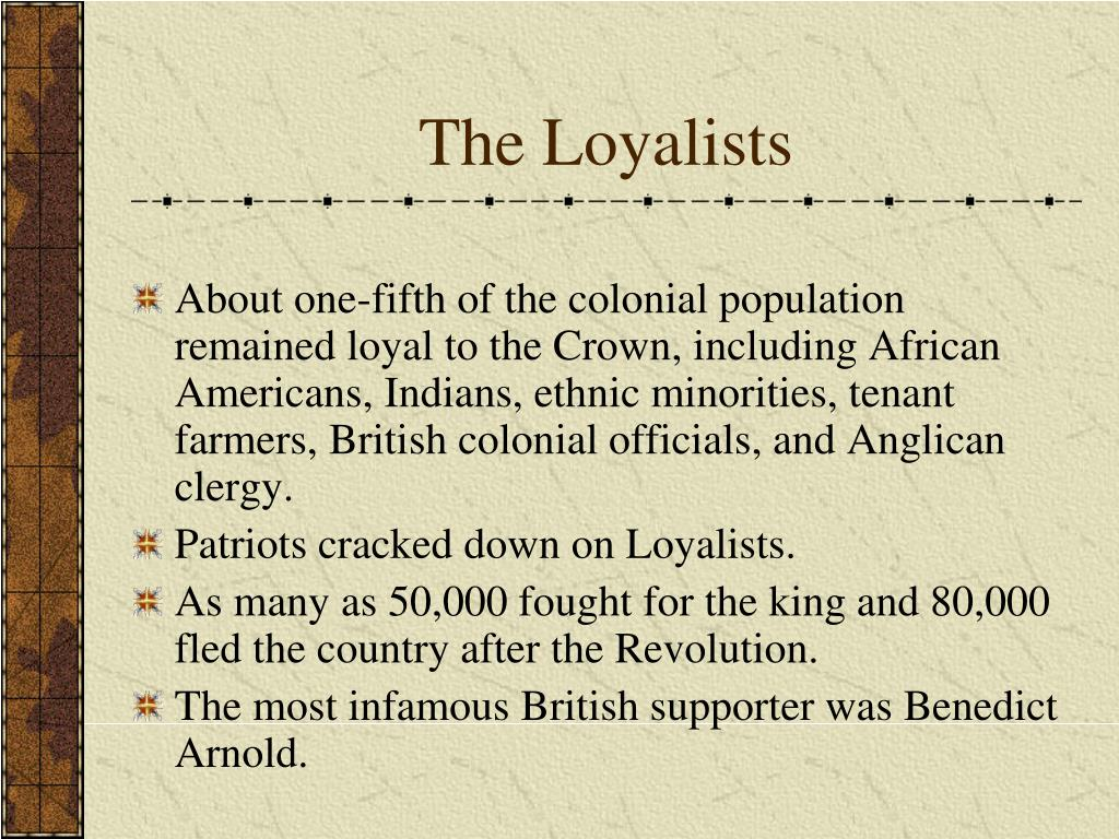 The Loyalists