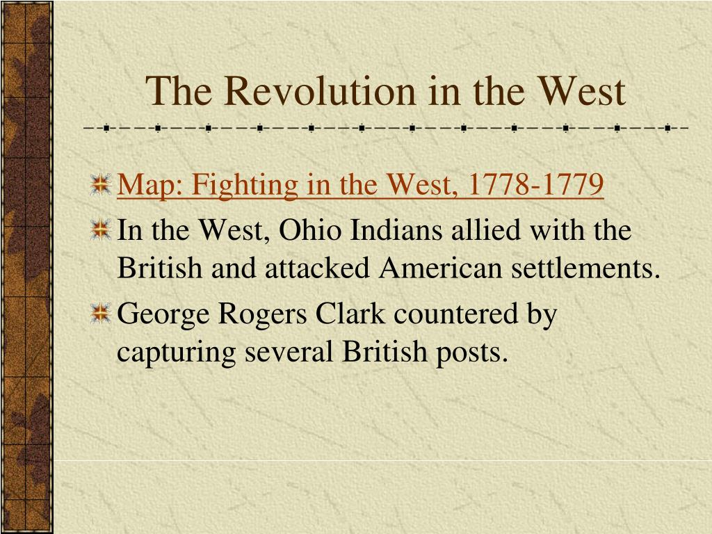 The Revolution in the West