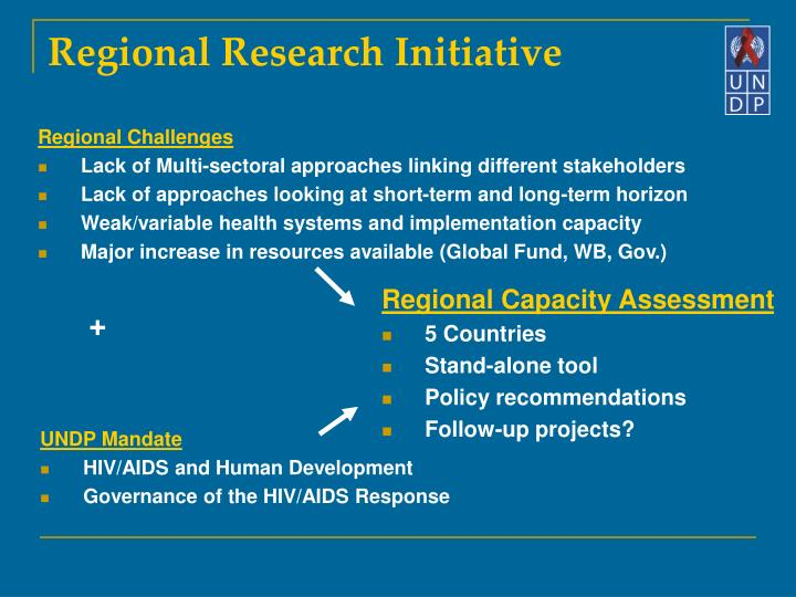 Regional research initiative