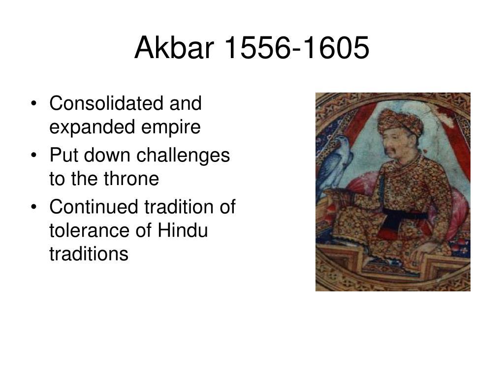 Akbar 1556-1605