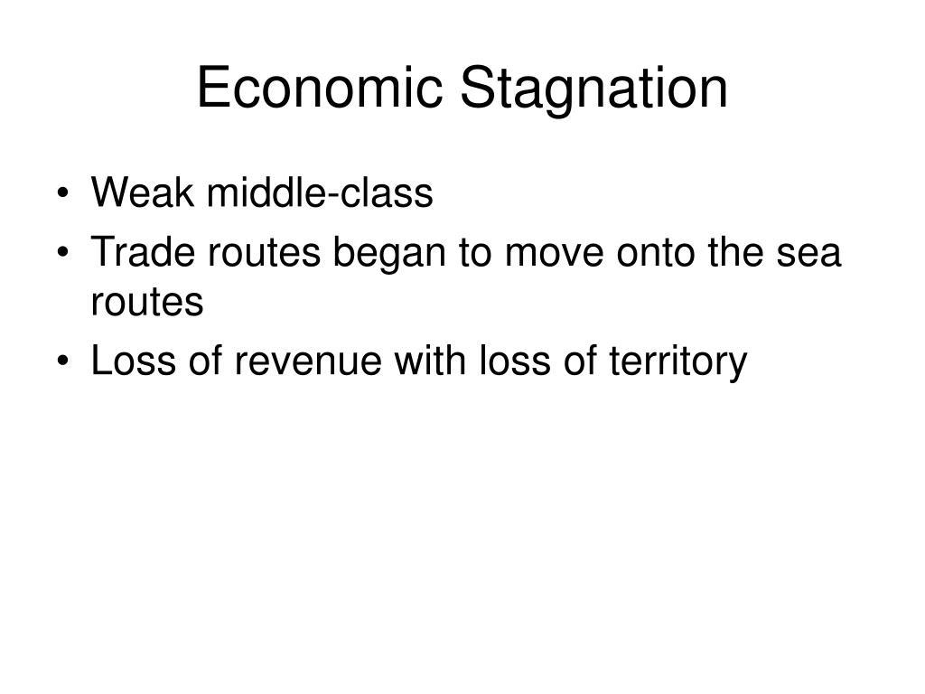 Economic Stagnation