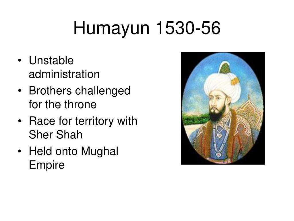 Humayun 1530-56
