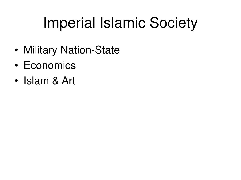 Imperial Islamic Society
