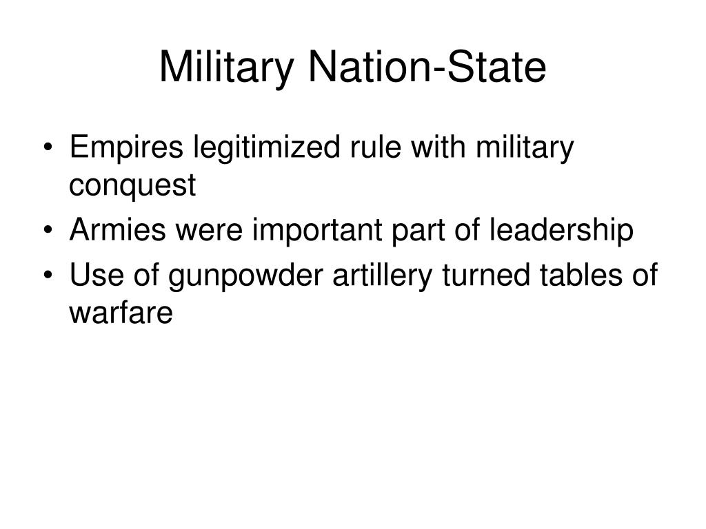 Military Nation-State