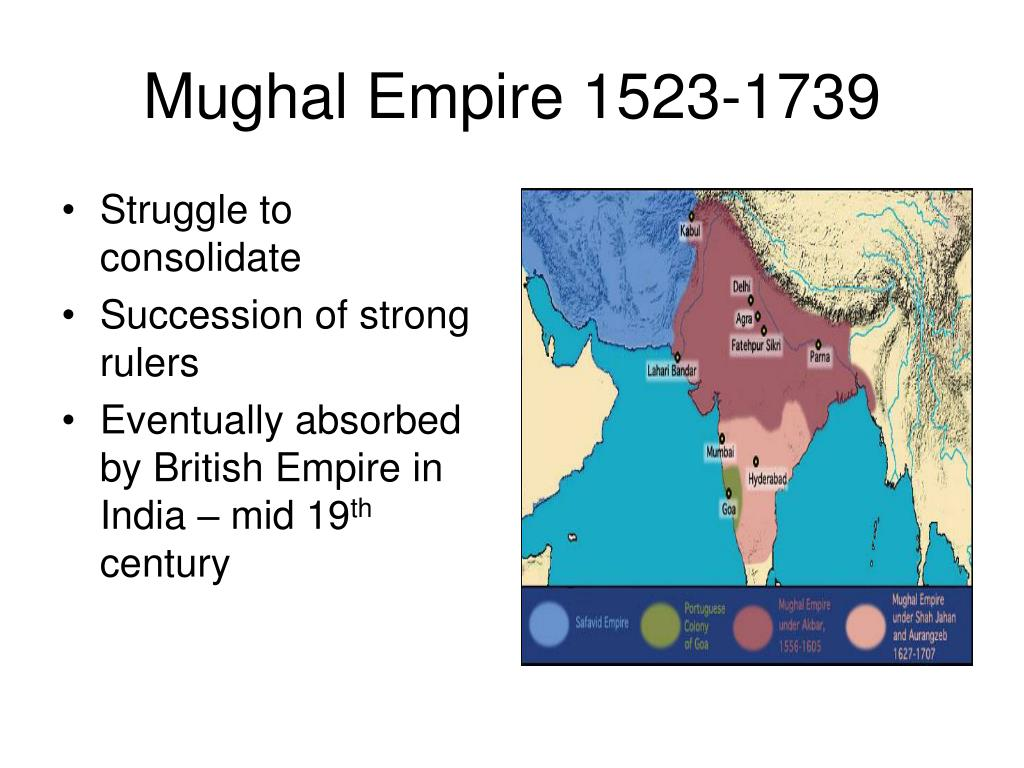 Mughal Empire 1523-1739