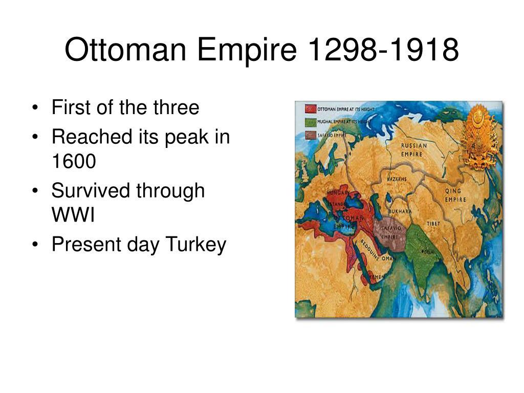 Ottoman Empire 1298-1918