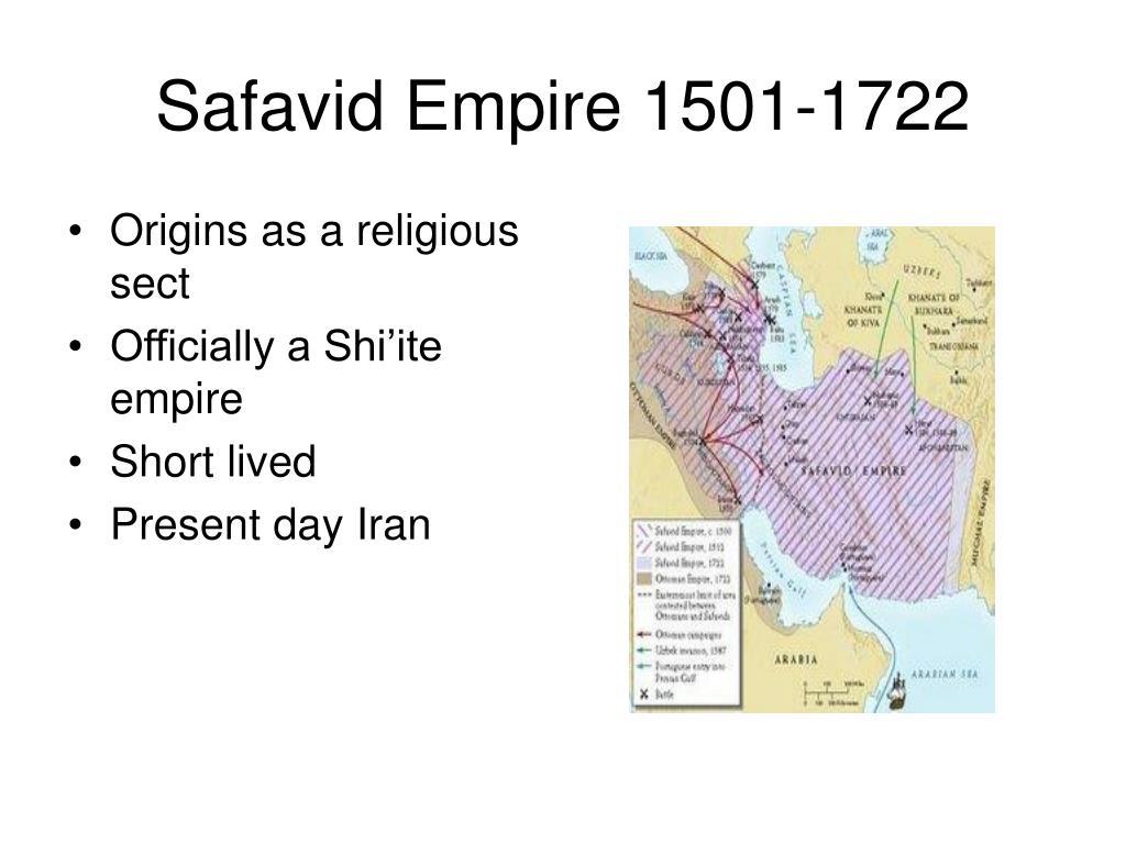 Safavid Empire 1501-1722