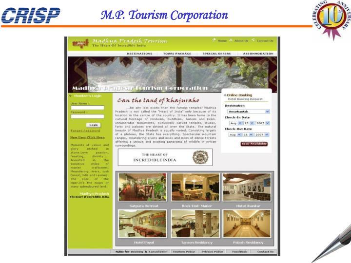 M.P. Tourism Corporation