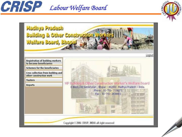 Labour Welfare Board