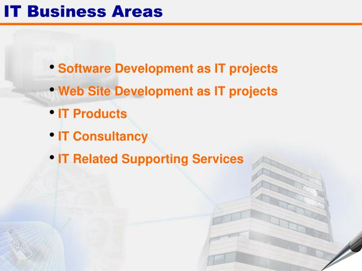 IT Business Areas