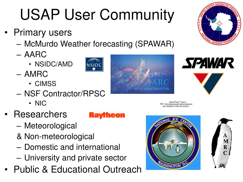 USAP User Community
