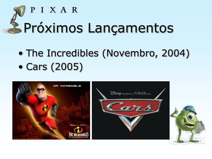 The Incredibles (Novembro, 2004)
