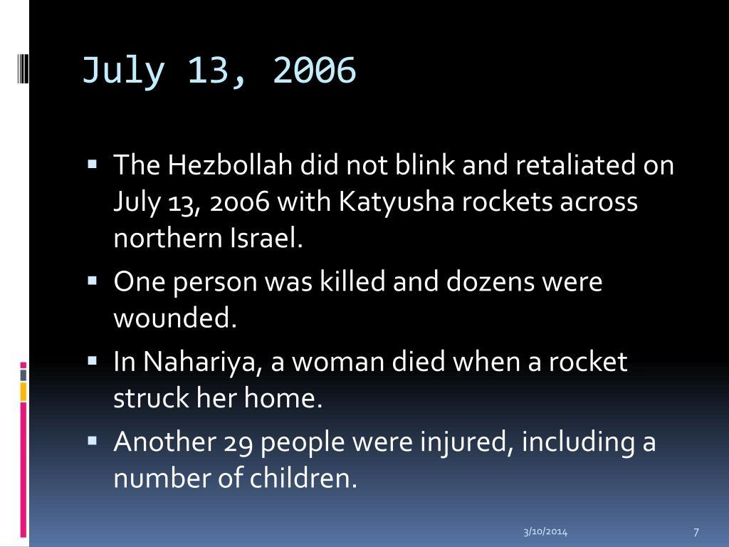 July 13, 2006