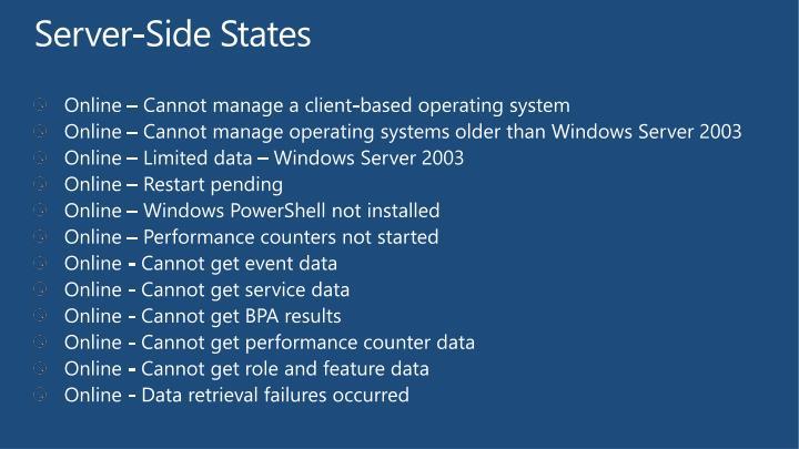 Server-Side States