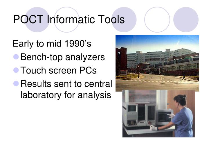 POCT Informatic Tools
