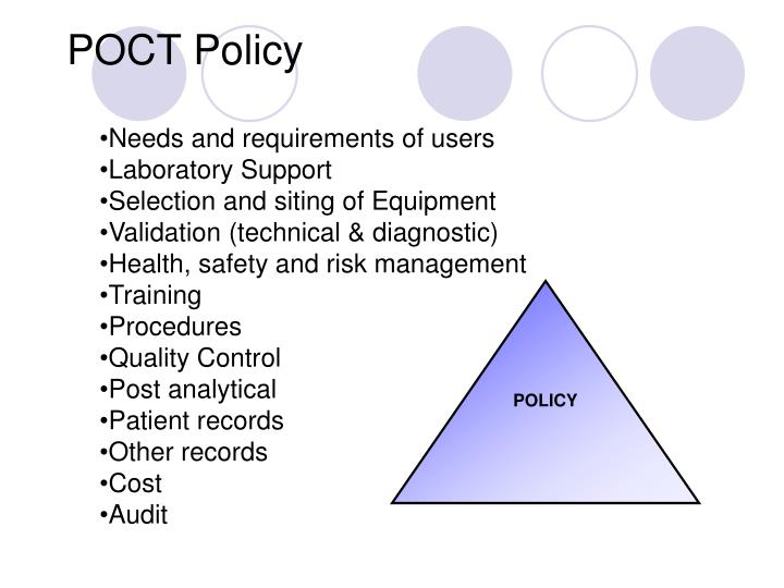 POCT Policy