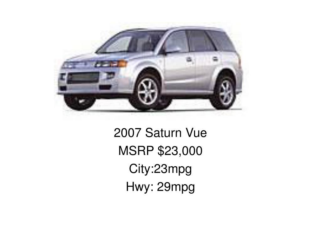 2007 Saturn Vue