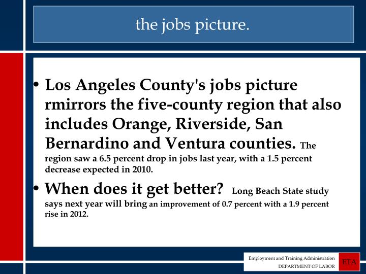 the jobs picture.