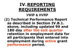 iv reporting requirements34