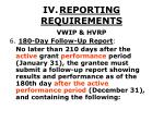 iv reporting requirements35