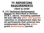 iv reporting requirements36