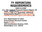 iv reporting requirements43