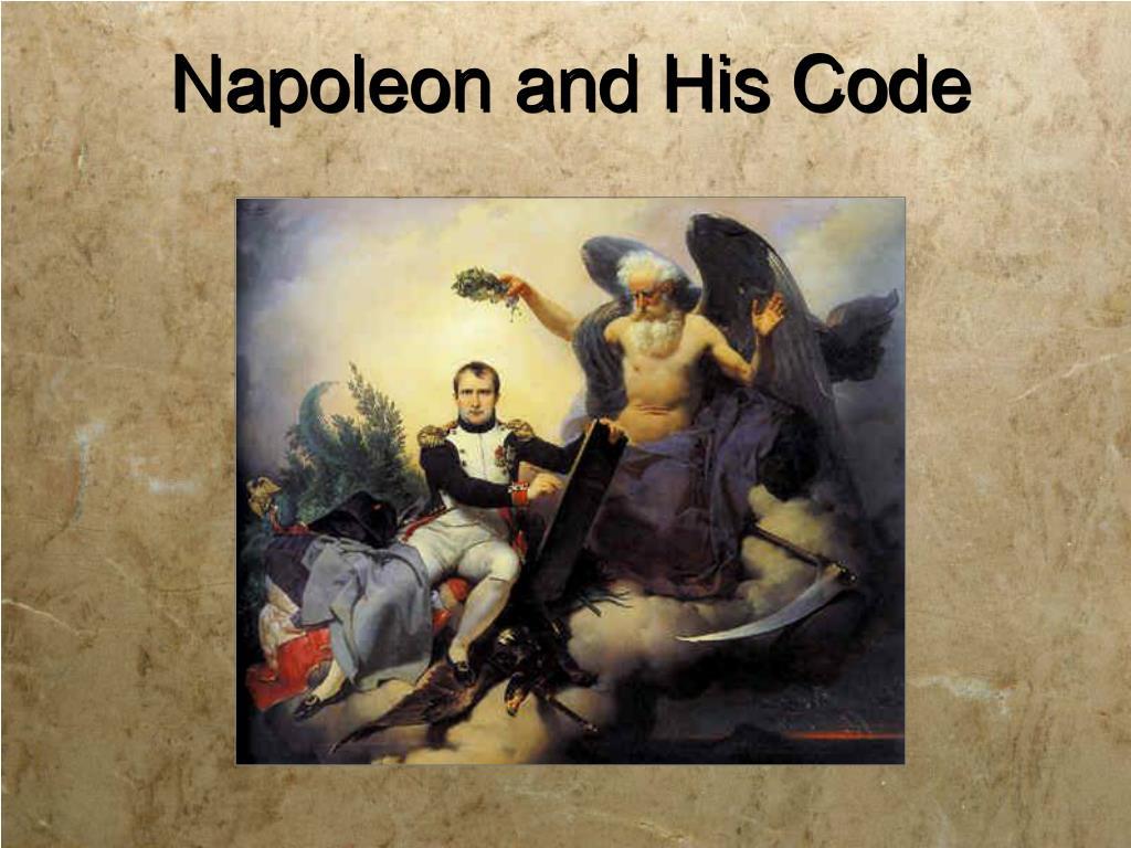 Napoleon and His Code