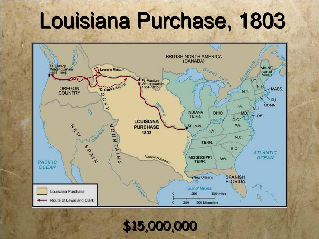 Louisiana Purchase, 1803