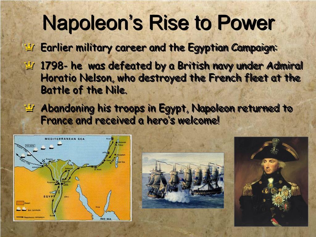 Napoleon's Rise to Power