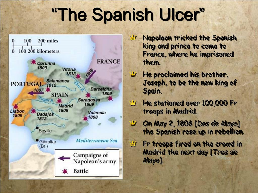 """The Spanish Ulcer"""