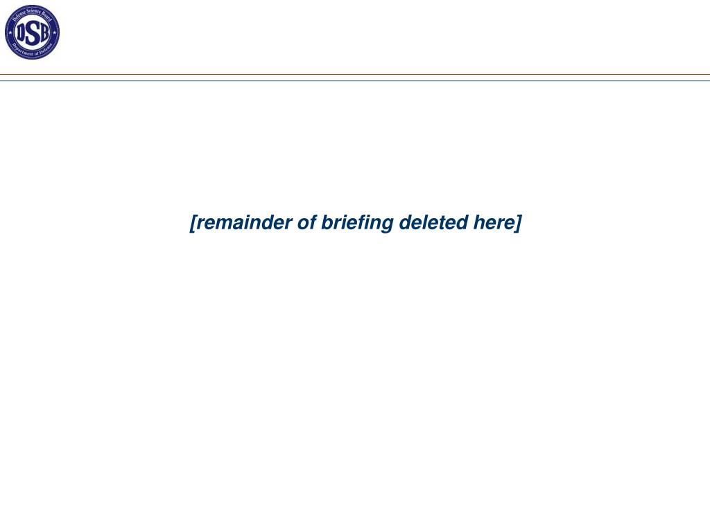 [remainder of briefing deleted here]