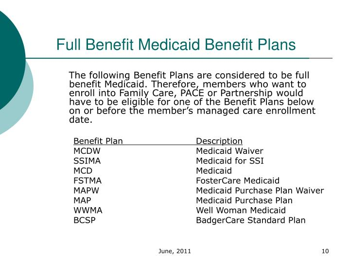 Medicaid Managed Long Term Care Enrollment
