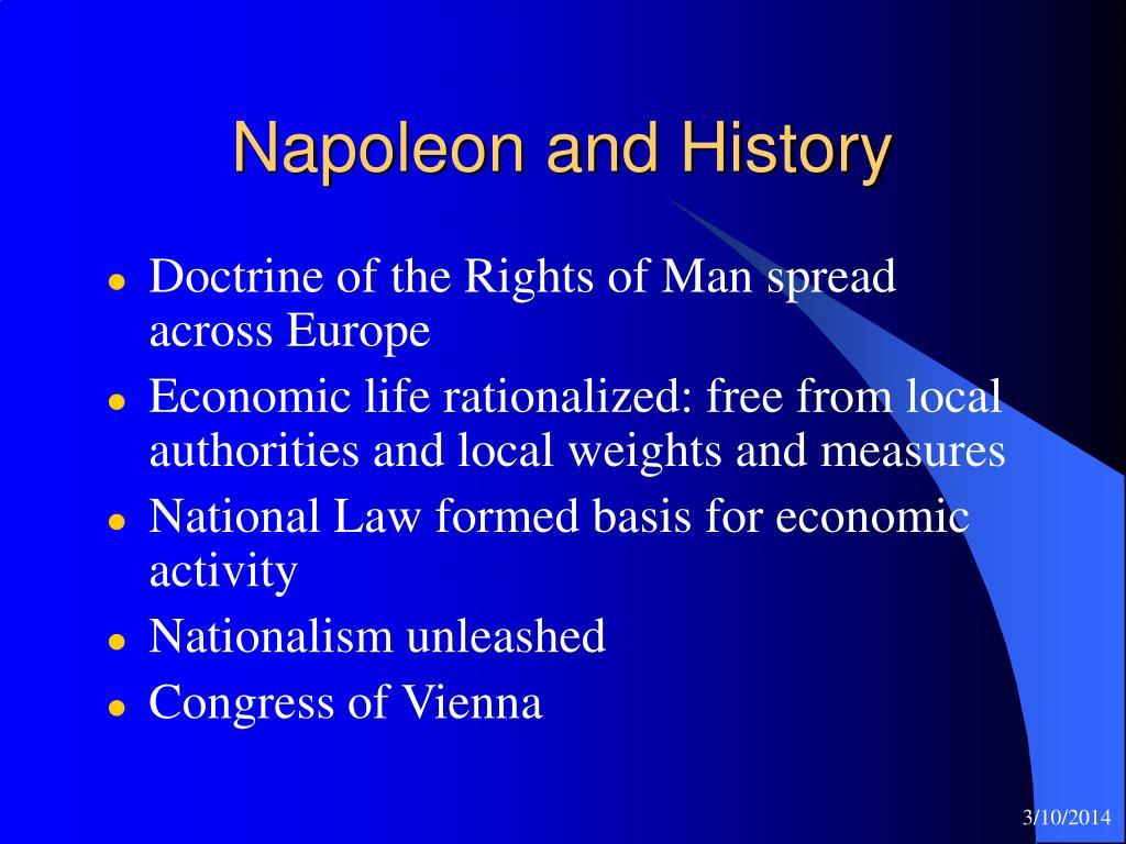 Napoleon and History