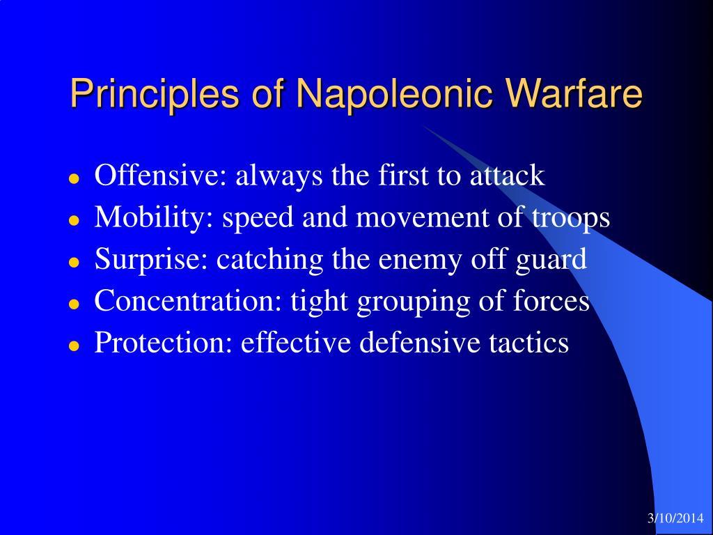 Principles of Napoleonic Warfare