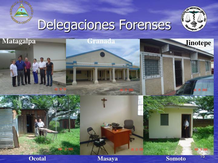 Delegaciones Forenses