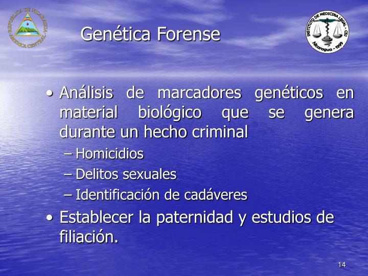 Genética Forense