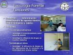 toxicolog a forense funciones