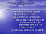 chinese dynasties han 206 bce 220 ce26