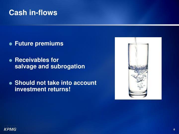 Cash in-flows