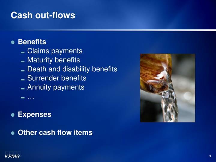 Cash out-flows