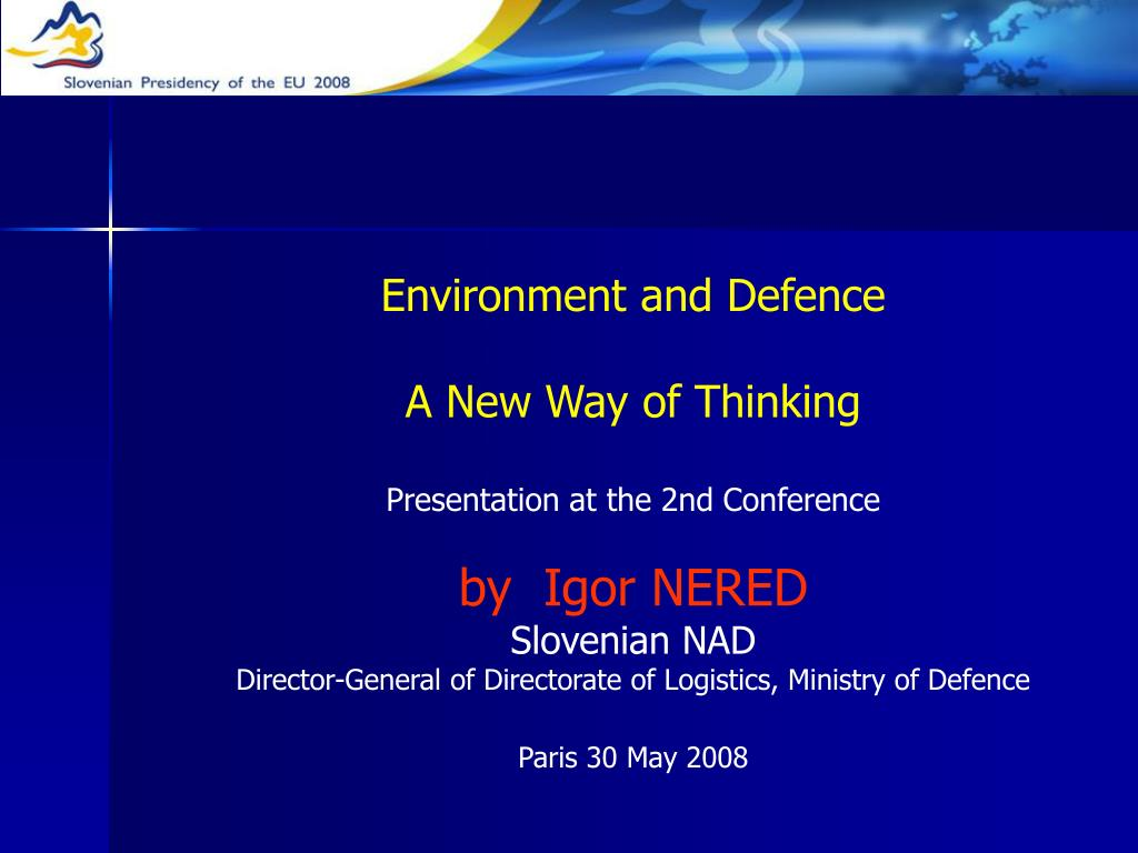 Environment and Defence
