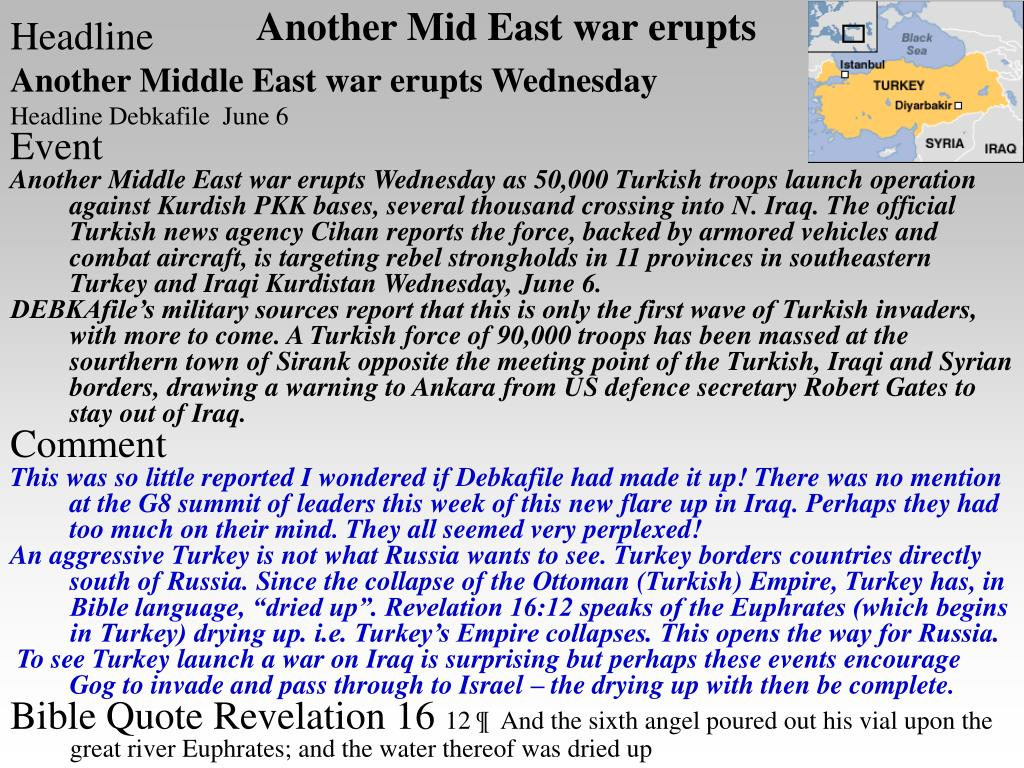 Another Mid East war erupts