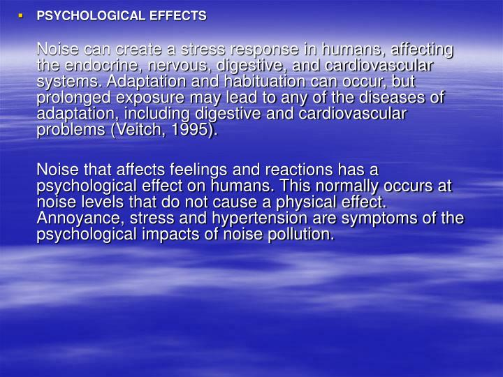 reaction about noise pollution The results are presented of a study of community reaction to jet aircraft noise in the vicinity of airports in chattanooga, tennessee, and reno, nevada.