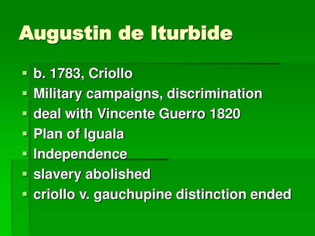 Augustin de Iturbide
