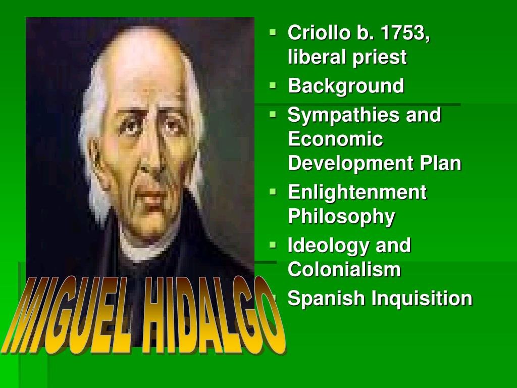 Criollo b. 1753, liberal priest